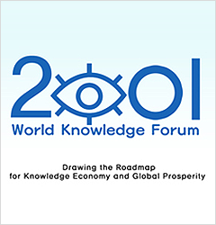 THE 2TH WORLD KNOWLEDGE FORUM